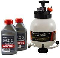 Pack auto-purgeur 3L + 2 bidons de MOTUL RBF600 (500ml)