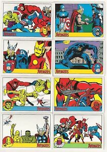 Avengers: Silver Age Complete Set (100 Cards)     2015  Rittenhouse