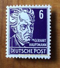 EBS East Germany DDR 1953 Gerhart Hauptmann 6Pf - Köpfe - Michel 328v MNH**