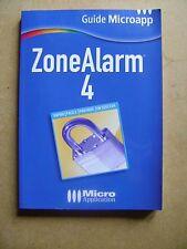 Manuel logiciel  sécurité internet ZoneAlarm 4 /AA1