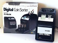 Royal Sovereign Fs 4da Fast Sort Automatic Digital Coin Sorter Anti Jam Four Row