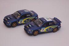 Scalextric coches Subaru Coche no 7 y no 8