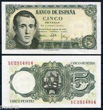 5 pesetas 1951 JAIME BALMES SC- /  SPAIN SPANIEN ESPAGNE Pick 140 - AUNC