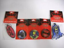VINTAGE 1997 NEW BATMAN & ROBIN MOVIE BUTTON #1 #2 AND #3 - GEORGE CLOONEY AND K