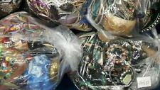 Joblot Mixed Costume Jewellery 2KG Kilo Bundle Every One Different Craft Beading