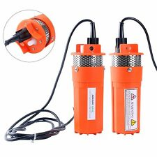 24V Submersible Deep DC Solar Well Water Pump Solar Battery Alternate Energy US