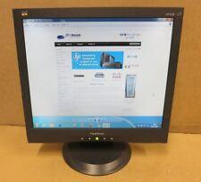 "ViewSonic VA703B Black 17"" Inch Led Backlit LCD TFT Computer Screen Monitor VGA"