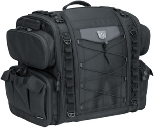 Kuryakyn Momentum Road Warrior Luggage Bag (5284, 3505-0216)