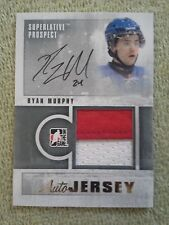 2011-12 In The Game RYAN MURPHY Rookie GOLD Supurlitive Prospect Autograph #d/10