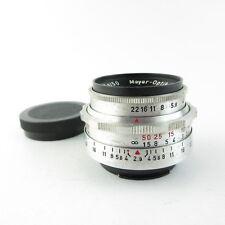 Für Exa Exakta Meyer-Optik Görlitz Alu Trioplan 1:2.9/50 Objektiv lens