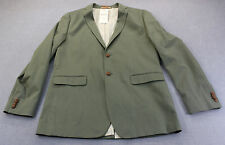 BEN SHERMAN PLECTRUM Mens Ivy Green 2-Button SPORTCOAT BLAZER NWT  M 40  $295
