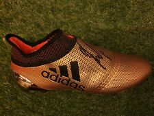BENZEMA signed Real Madrid boots France player issue match worn Olympique Lyon