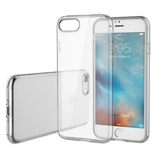 Clear Crystal Transparent Soft Silicone Gel Cover Case for iPhone 7 Plus