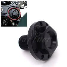 Black CNC Aluminum Steering Stem Bolt For Harley Sportster XL 1200 883 48