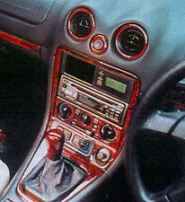 MAZDA MX5 MK2 & Mk3 1999 UP WALNUT WOOD DASH TRIM KIT