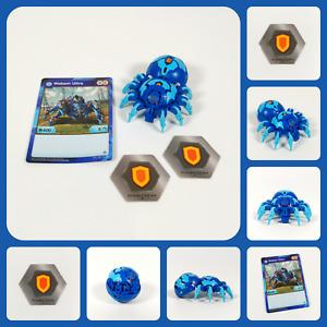 RARE! BAKUGAN Battle Planet   WEBAM ULTRA + Card & 2 BakuCores   AQUOS   B400 5A