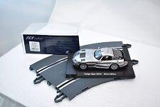 FLY CAR MODELS 1/32 SLOT CARS 88178 CHRYSLER VIPER GTS-R SILVER EDITION E-650