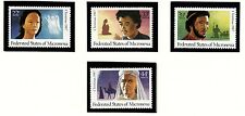 MICRONESIA Sc 58,C31-33 NH ISSUE OF 1987 - CHRISTMAS