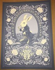 Alice's Adventures in Wonderland Print By Tracie Ching Officially By Disneyland