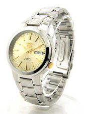 SEIKO 5 Automatic SNKA03 SNKA03K1 Mens See Through 21 Jewels Steel Watch