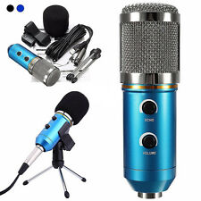 Blue Audio USB Sound Kondensator Mikrofon Mic Studioaufnahme mit Shock Mount New