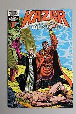 RARE 1982 Ka-Zar The Savage #12 Recalled Error Dante Red Panel Variant Satan HTF