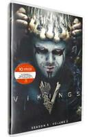 Vikings Season 5 Volume 2 (DVD, 2019) Brand New SHIPPING NOW!