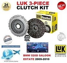 FOR BMW 520 D E60 SALOON E61 ESTATE 2005-2010 CLUTCH KIT LUK 3 PIECE OE QUALITY