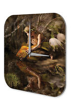 Wall Clock Vintage Gothic Fairy goldfish Dream World Vintage
