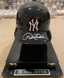 Derek Jeter Signed Autograph Baseball Helmet Steiner Authentic New York Yankees