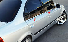 Fit For Honda Civic Saloon Chrome Window Trims Stainless Steel 1996-2000