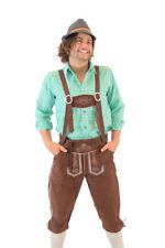 Adult Mens Drinking Holiday Oktoberfest German Bavarian Lederhosen Costume Pants