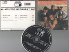 Village People  CD  SEX OVER THE PHONE  (c) 1985 Metronome  Black Face