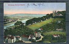 Ansichtskarte Würzburg per Bahnpost befördert - 00699