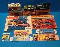 Vintage Matchbox Lot