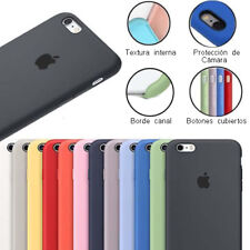 Funda trasera SILICONE para iphone 6 y 6s / 6 y 6s plus maxima Calidad silicona