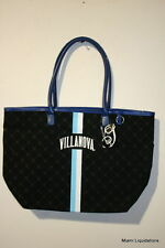 "NCAA Villanova University Wildcats 19x7x13"" Canvas Tote Handbag Purse Bag"