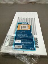 """NEW Accord Ventilation Steel Sidewall/Ceiling Register - White - Size:14""""x6"""""""