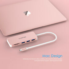 LENTION USB-C Hub Type C to USB 3.0 SD Card Reader Adapter Fr 2019 MacBook Dell
