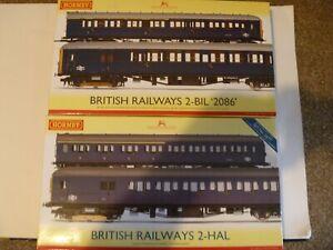 HORNBY HOBBIES 00 GAUGE MODEL RAILWAYS BRITISH RALWAYS 2-HAL 2-BIL 2086 SETS