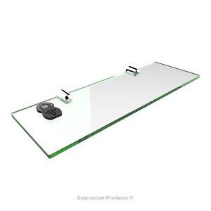 Acrylic Safety Shelf - suitable for bathroom, bedroom, office, kitchen, caravan