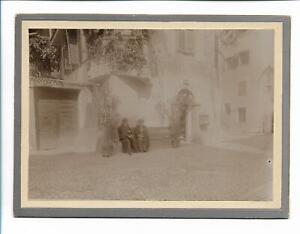 XX14131/ Bozen Batzenhäusl Italien Südtirol 1903 Pappfoto 18,5 x 13,5 cm Foto