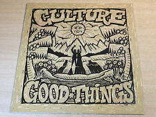 EX/EX !! Culture/Good Things/1989 Real Authentic Sound LP