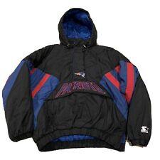 VTG New England Patriots Starter Parka Jacket NFL Football 1990s Mens XL
