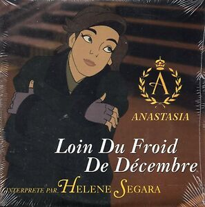 ★☆★ CD SINGLE Helene SEGARA  Walt Disney Liz Callaway  Anastasia Loin du froid