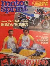 Motosprint 5 1983 Test AGRATI GArelli NOI ES - Franco Uncini   [SC.31]