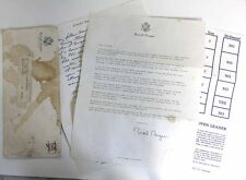 "Ronald Reagan / Eugene ""Red"" McDaniel POW Campaign Letter RARE!!!!"