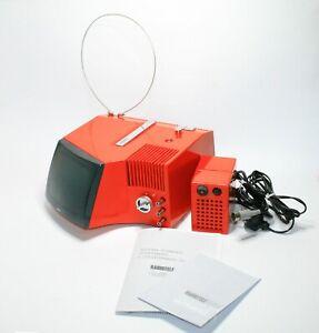 "RARE VINTAGE 1969 RADIO-TELEVISION TELEXA ULTRAVOX COLIBRI 6"" ITALY SPACE AGE"