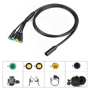 Kabelbaum Higo 1T4 Kabelverdrahtung für Bafang Mid-Drive-Motorsätze BBS01 02 HD
