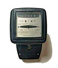 Compteur Electrique monophasé 220 100/5 L8A1 Landis Gyr Suisse 1963 collection ⚡